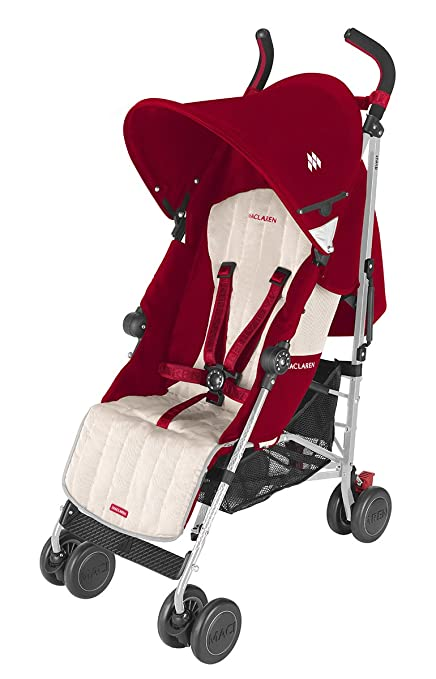 Maclaren Quest Stroller, Scarlet/Wheat by Maclaren: Amazon ...