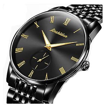 # Reloj digital impermeable para hombre Reloj mecánico automático Reloj masculino Relojes de los hombres impermeables luminosos de la manera Reloj de acero ...