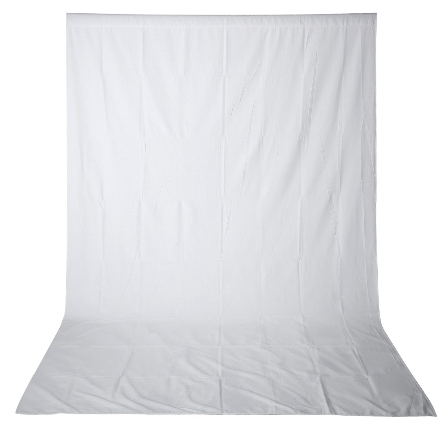 Neewer 10 x 20FT / 3 x 6M PRO Photo Studio 100% Pure Muslin Collapsible Backdrop Background for Photography,Video and Televison (Background ONLY) - WHITE by Neewer (Image #3)