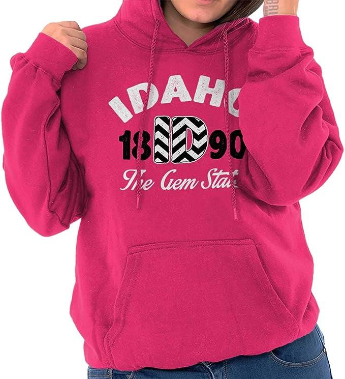 Idaho Hoodie Vintage Idaho Sweatshirt Retro ID