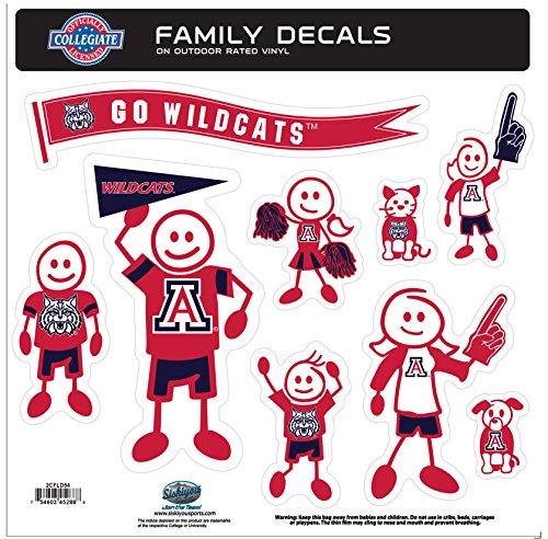 Arizona Wildcats Family Decal Set Large -
