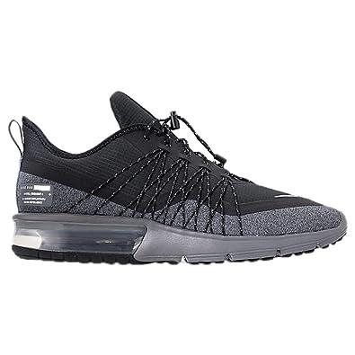 Nike Herren Air Max Sequent 4 Fitnessschuhe, schwarzrot