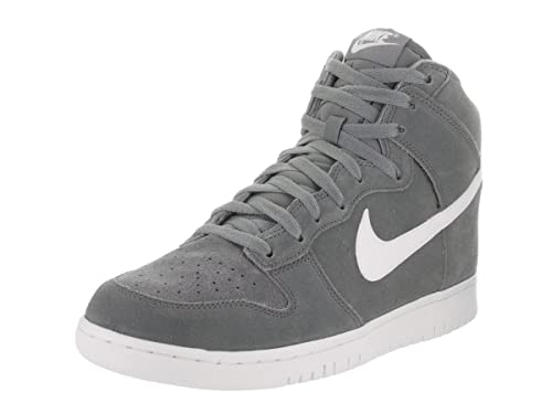 cheap for discount 8b73d b7930 Nike, Uomo, Dunk Hi, Suede/Pelle, Sneakers Alte, Grigio ...