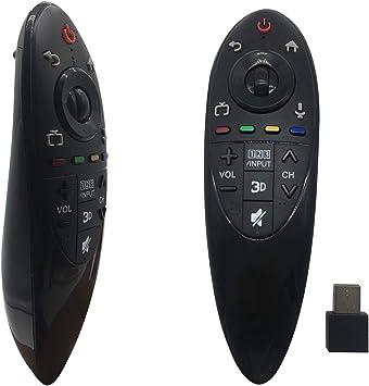 FOXRMT - Mando a distancia de repuesto para LG Smart TV AN-MR500 MBM63935937: Amazon.es: Electrónica