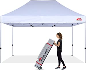 MASTERCANOPY Pop Up Canopy Tent 10x15 Instant Shelter (White)