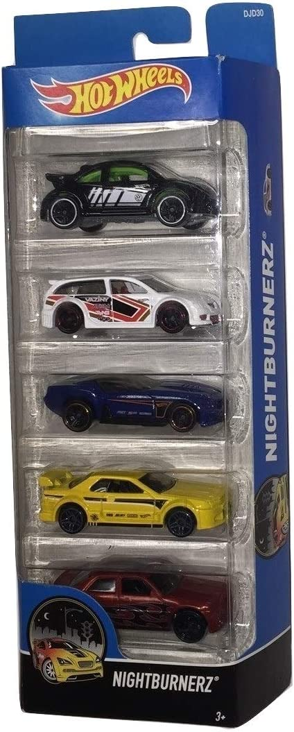 Hot Wheels, 2016 Nightburnerz 5-Pack