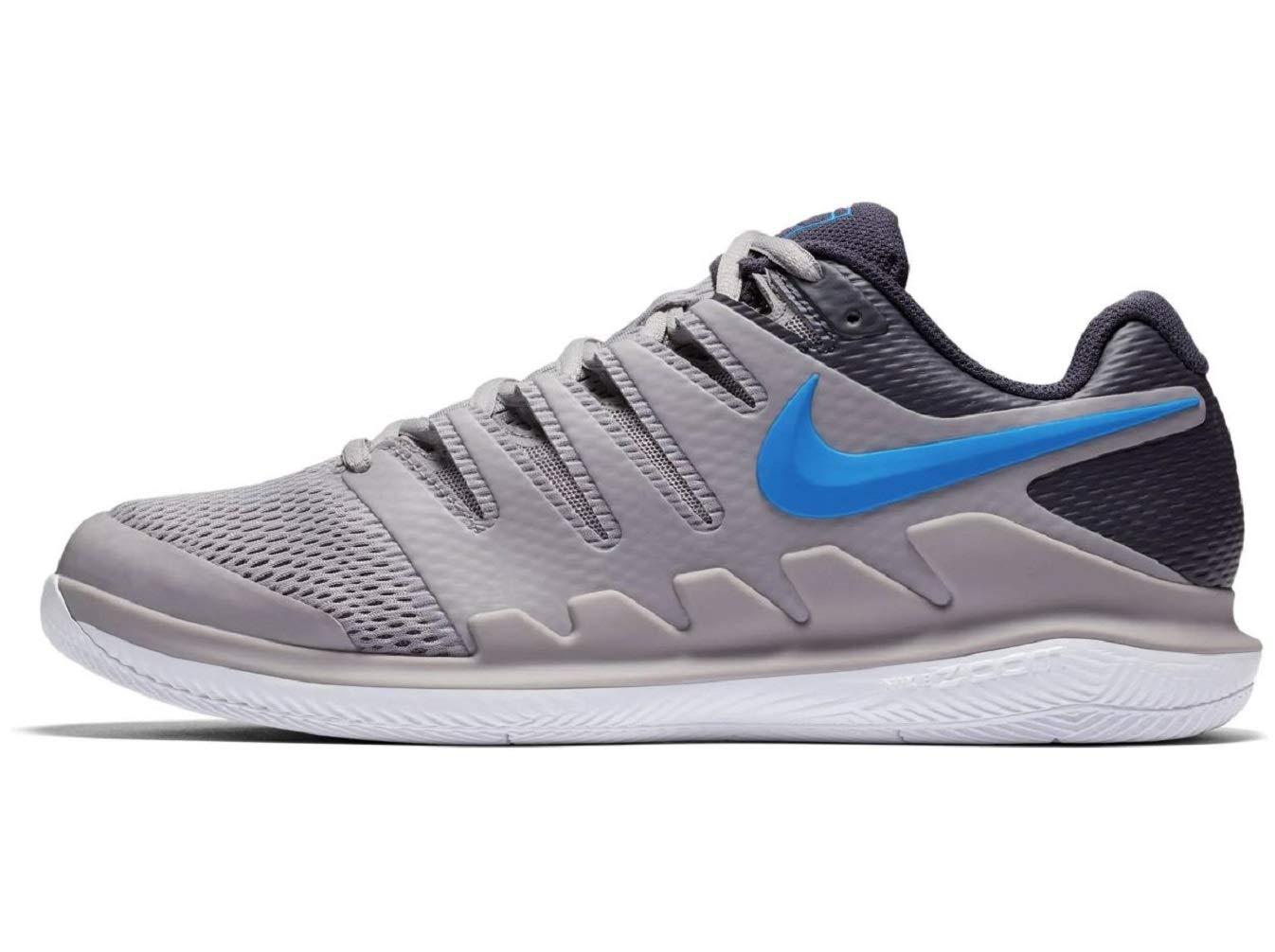 best cheap d164d f06a8 Galleon - NIKE Men s Air Zoom Vapor X Tennis Shoe (4 D(M) US, Atmosphere  Grey Photo Blue-White)
