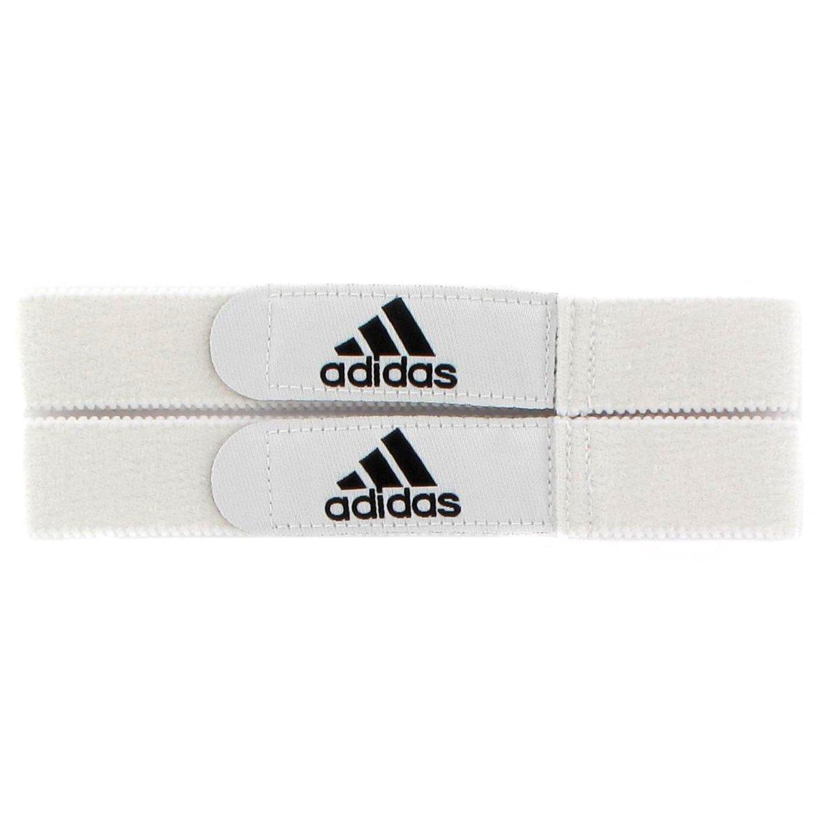 Adidas シンガード用ストラップ B007SYG3JIホワイト NA