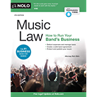 Music Law: How to Run Your Band's Business book cover