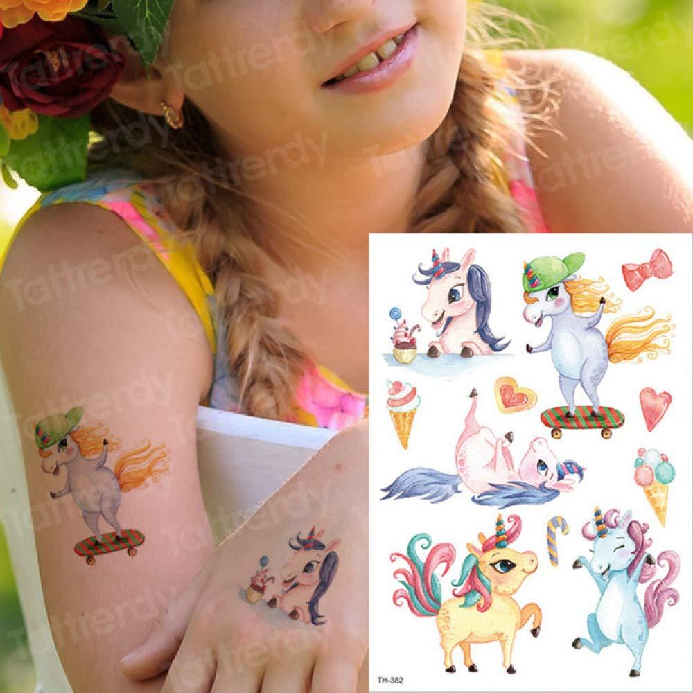 adgkitb 3 Piezas Pegatina Tatuaje Temporal niños Tatuajes niños ...