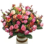 Grunyia-Artificial-Fake-Flowers-Silk-Tiny-Rose-Flowers-Wedding-Bridal-Bouquet-Home-Decoration