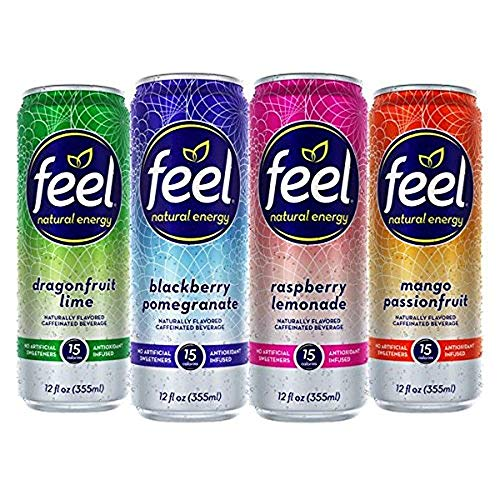FEEL Natural Sparkling Caffeinated Beverage
