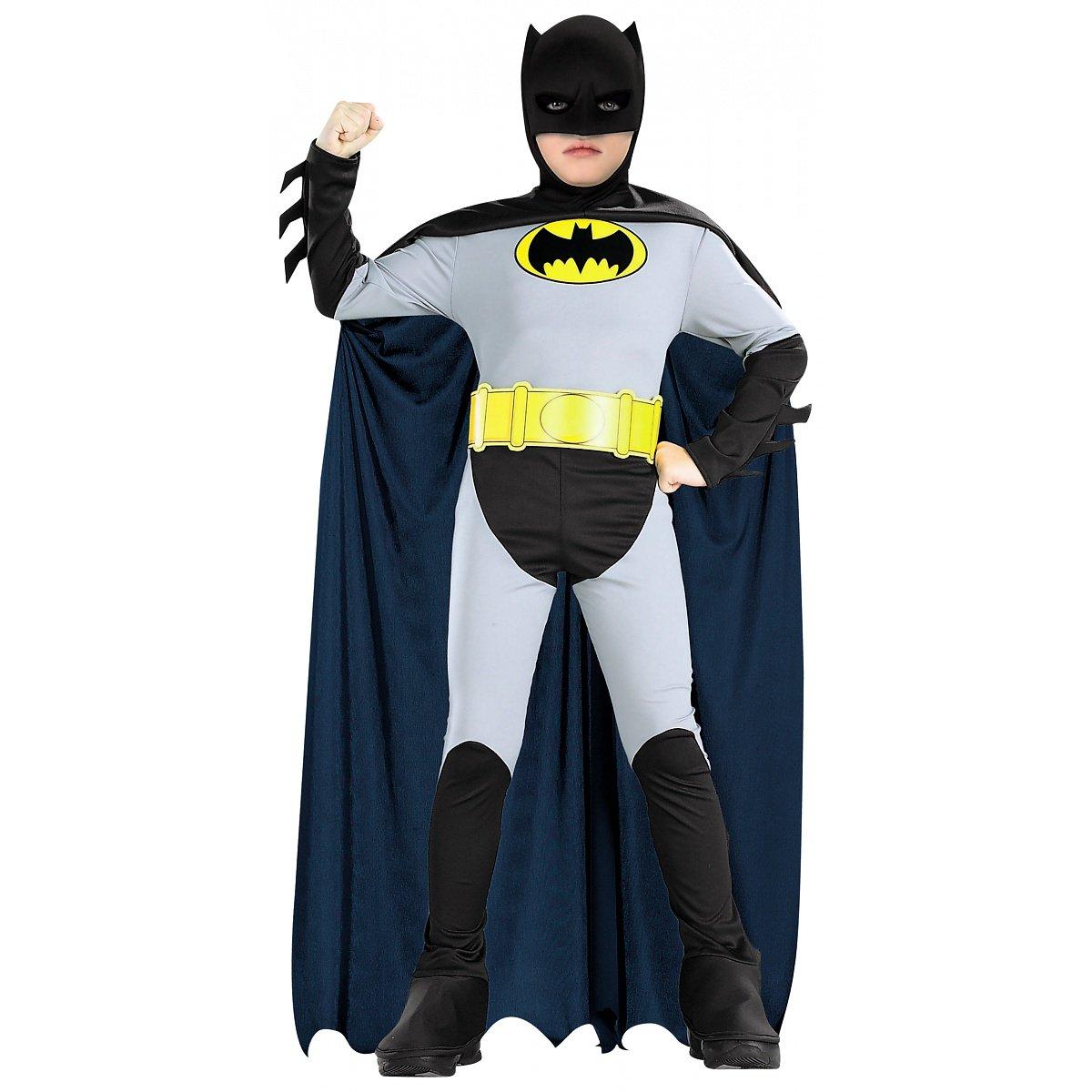Amazon.com: Batman Classic Halloween Costume Children-USA Size 4-6 ...