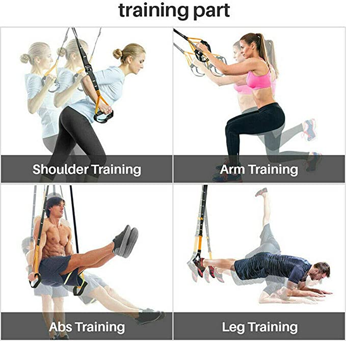 XXN Suspended Training Belt Kit Home Outdoor Sports Practice ...