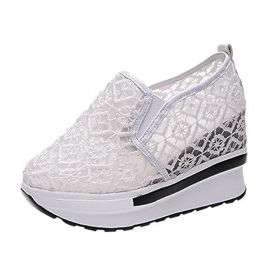 0aa002d98bfa DENER Women Platform Wedge Sneakers