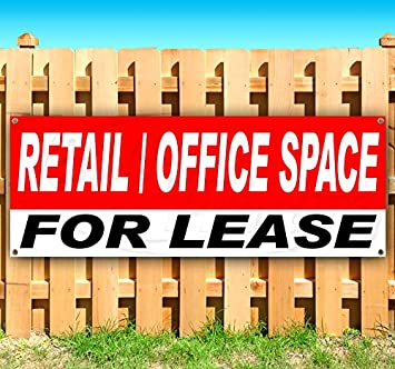 Advertising New Many Sizes Available for Lease Extra Large 13 oz Heavy Duty Vinyl Banner Sign with Metal Grommets Store Flag,