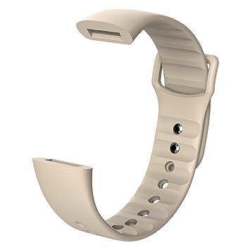 MORE FINE Bracelets De Remplacement pour Montres Connectées Smartwatch Bracelet Remplaçable de Haute Qualité en Caoutchouc