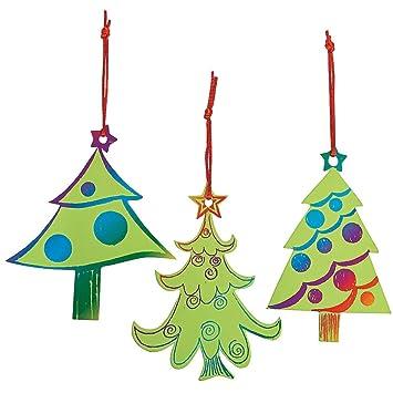 Elfen Und Zwerge 24 X Weihnachtsbaum Kratzbild Deko