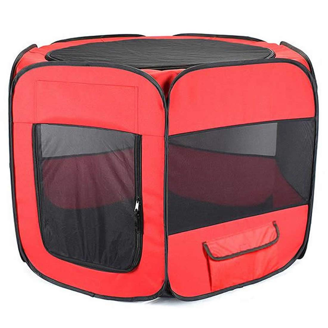 1 A 1 A Zhyaj Cat Tent Foldable Breathable Puppy Cat House Kennel Portable Outdoor Fence Dog Cat Bed Nest Kennel Pet Extra Outdoor Dog Kennel for Large Dogs,1,A