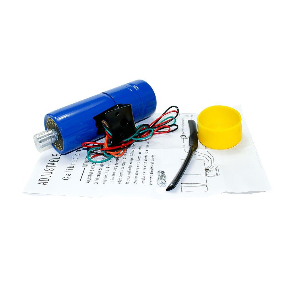 Cnspeed r/églable /électronique avertissement tachym/ètre RPM Shift lumi/ère