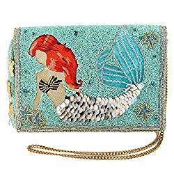 Little Mermaid Ariel Beaded Cross Body Clutch