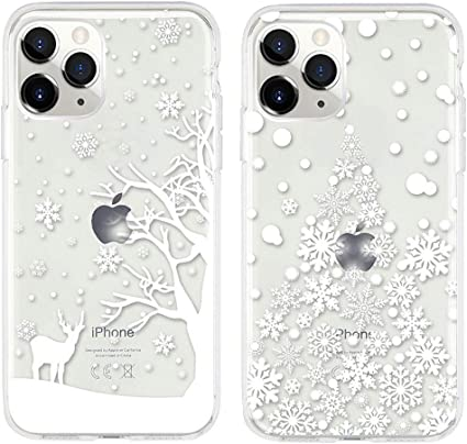 Moiky Transparent TPU Coque pour iPhone 11 Pro Max,[2 x] Silicone ...
