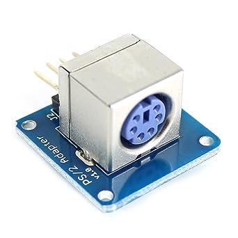 PS/2 Keyboard módulo adaptador para Arduino – azul + plata ...