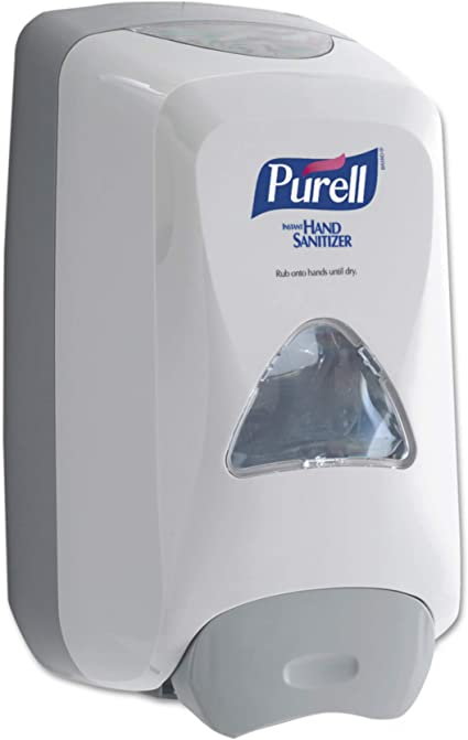 Amazon Com Purell Fmx 12 Push Style Hand Sanitizer Foam Dispenser