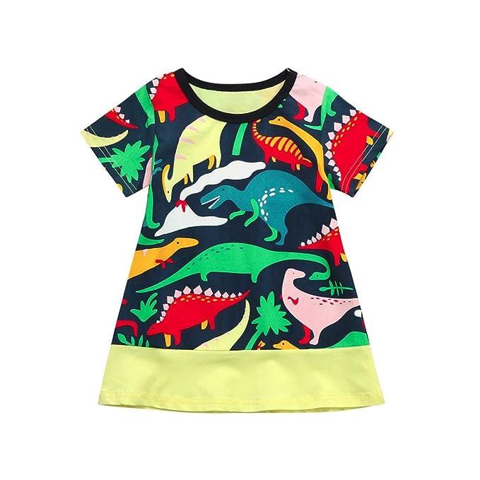 Amazon.com: goodlock infantil Kids Vestido de bebé niña ...