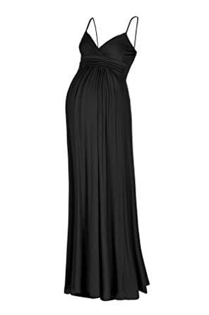 Beachcoco Women's Maternity Sweetheart Party Maxi Dress