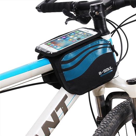 Paquete de cuadro de bicicleta Bolsa de maletas de bicicleta ...