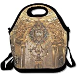 Staropor Golden Religious Objects Spain Awesome Lunch Tote Lunch Bag Outdoor Picnic Mid-sized