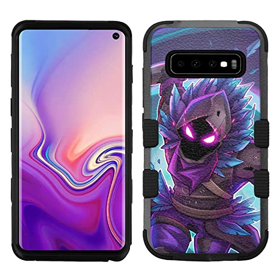 new style 3f73e 74d3a Amazon.com: for Samsung Galaxy S10 Hard Impact Rugged Case Fortnite ...