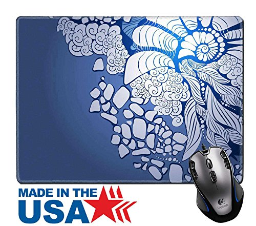 "MSD Natural Rubber Mouse Pad/Mat with Stitched Edges 9.8"" x 7.9"" Floral abstract background Design template can bebanners graphic or website IMAGE 23815637 Stain Resistance Kit Kitchen Table Top - Hot Websites Images"