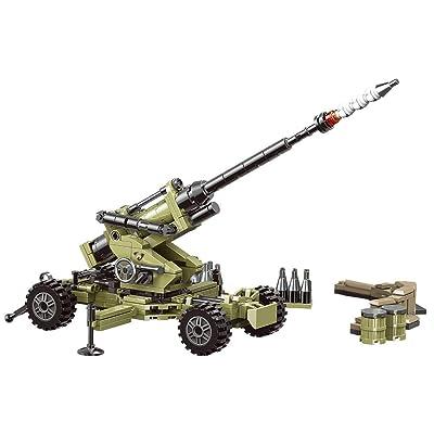 JRhong Modelo RC Coche Construcción Juguetes Modelismo para Combate Militar,Custom Vehículo Militar Compatible con Conjunto Transformación: Juguetes y juegos