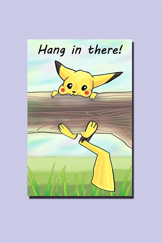 Amazon.com: Póster de Pikachu para colgar en la pared ...