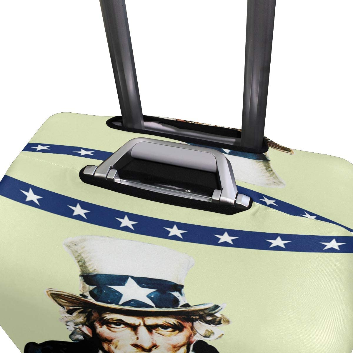 Donald Trump 2020 Travel Luggage Cover Spandex Washable Suitcase Protective Cover Baggage Protector Fit 18-32 inch Suitcase