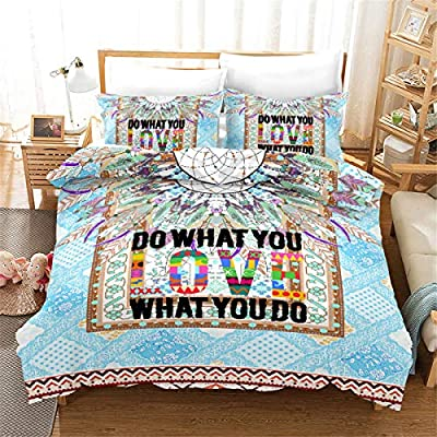 Goldrui Twin Bedding Cover Set - Luxury Microfiber Comforter Quilt Cover - Best Organic Modern Style for Kids and Women(2 pcs, Flat Sheet+ Pillowcase): Home & Kitchen