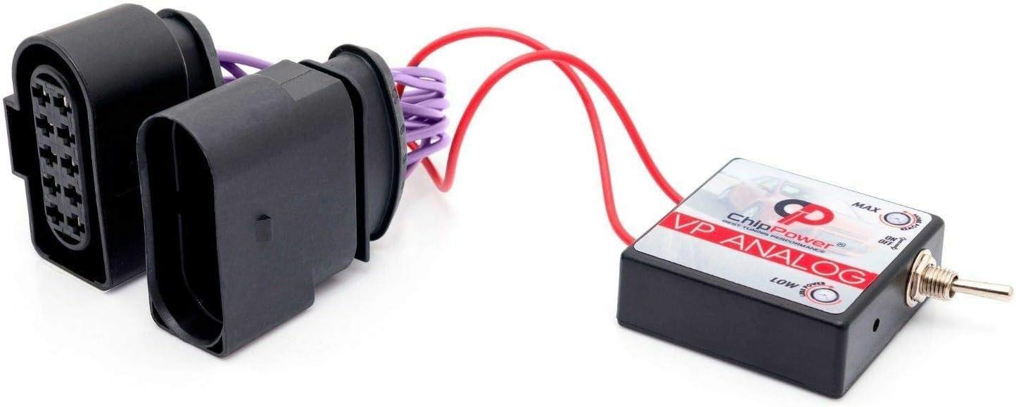 Chip de Potencia ChipPower VPa para Coche BORA 1.9 TDI 81 kW 110 CV Box Diesel