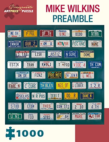 Mike Wilkins - Preamble 1000 Piece Jigsaw Puzzle 25 x 25in