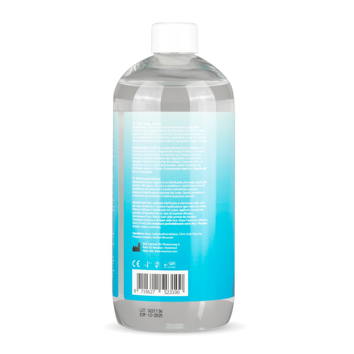 38b167a3b EasyGlide Water Based Lube 500 ml - Personal Lubricant  Amazon.co.uk   Health   Personal Care