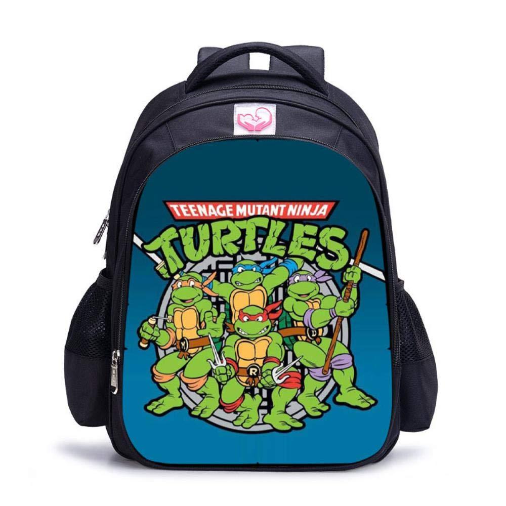 Ninja Turtle - Mochila Escolar para niños de 3 a 6 años ...