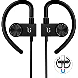 Bluetooth Headphone, Wireless Sport Earphone BOROFONE BE3 Workout Exercise Earbuds With Magnetic Design With Microphone Sweatproof Waterproof CSR Chip Headsets (Black)
