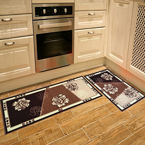 Seamersey Home And Kitchen Rugs Peony Pattern 4 Size 2