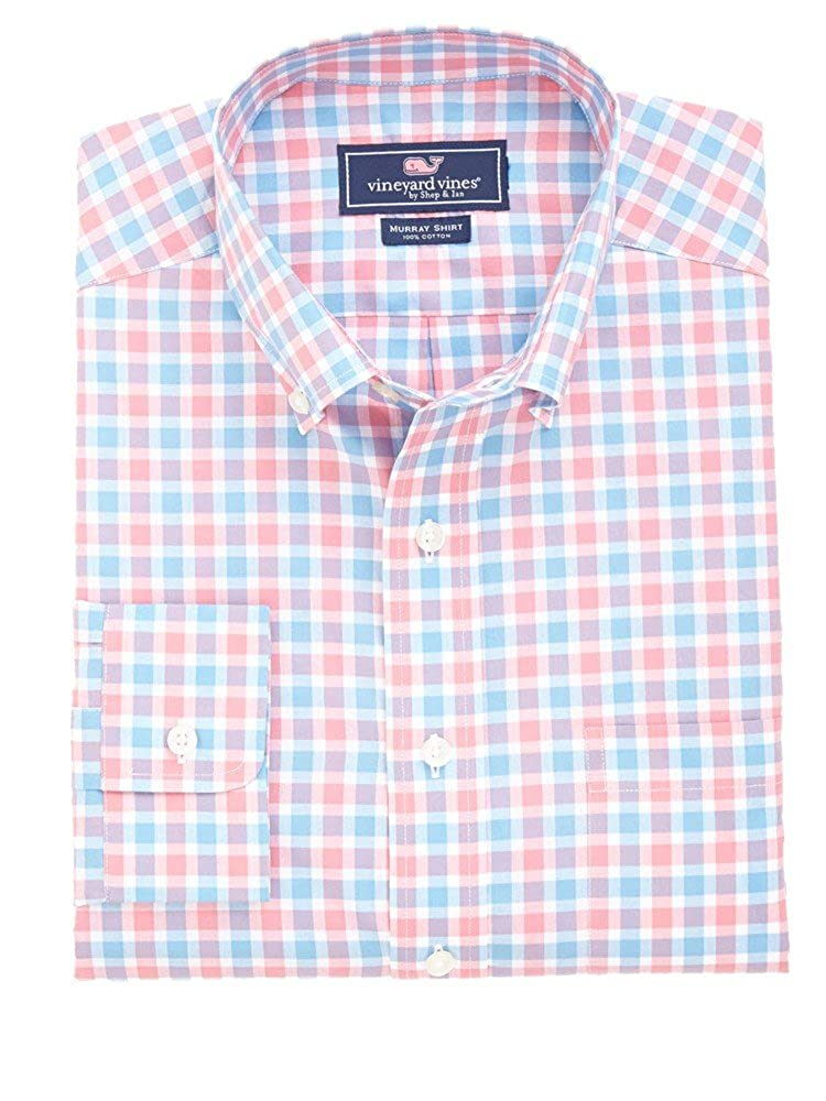 Vineyard Vines Mens Rowayton Check Murray Shirt