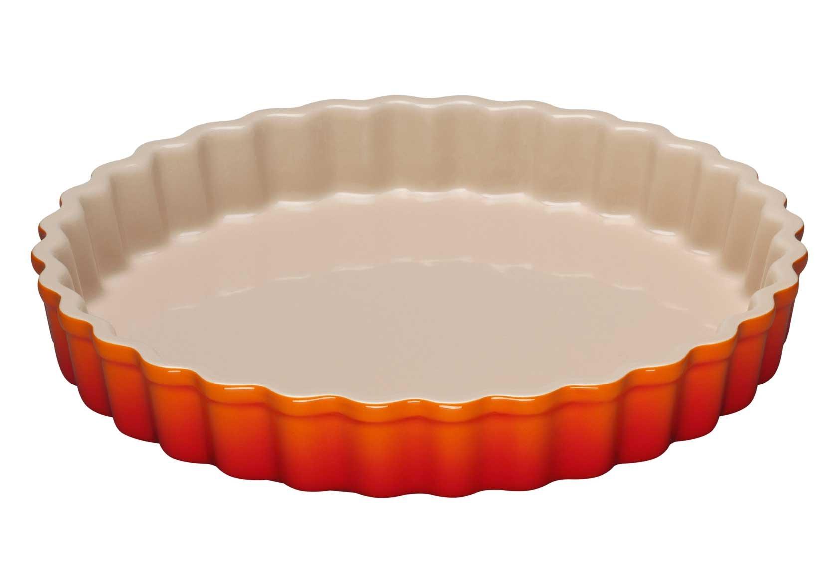 Tart Dish Size: 1.5 Qt. / 9'', Color: Flame