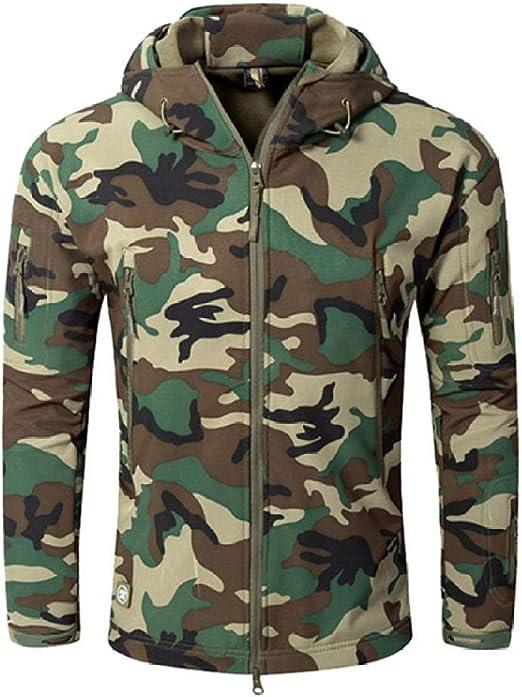 Chaqueta Militar Soft Shell Hombres Impermeables Ropa Militar ...