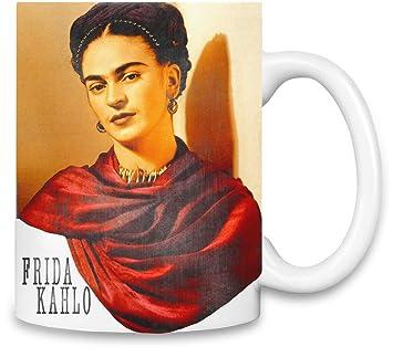 vente chaude réel marques reconnues chaussures pour pas cher World Designz Frida Kahlo avec Foulard Rouge - Frida Kahlo ...