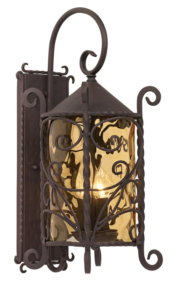 Casa seville 23 34 high iron scroll outdoor wall light wall casa seville 23 34 high iron scroll outdoor wall light wall porch lights amazon aloadofball Gallery