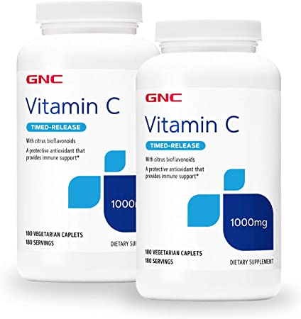 GNC GNC Vitamin C Timed-Release 1000 mg - Twin Pack